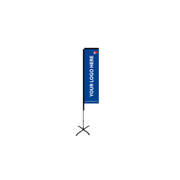 RECTANGULAR BEACHFLAGG 4,10 M