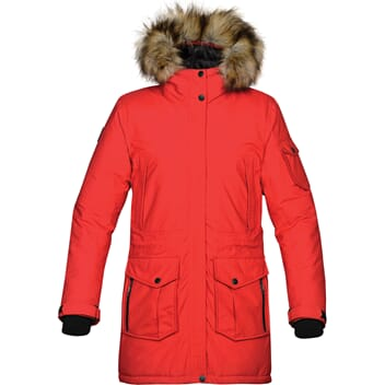 Expedition parka dame, 4 farger